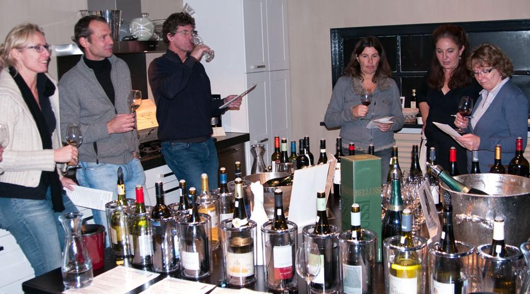 Wine tasting at Jwines